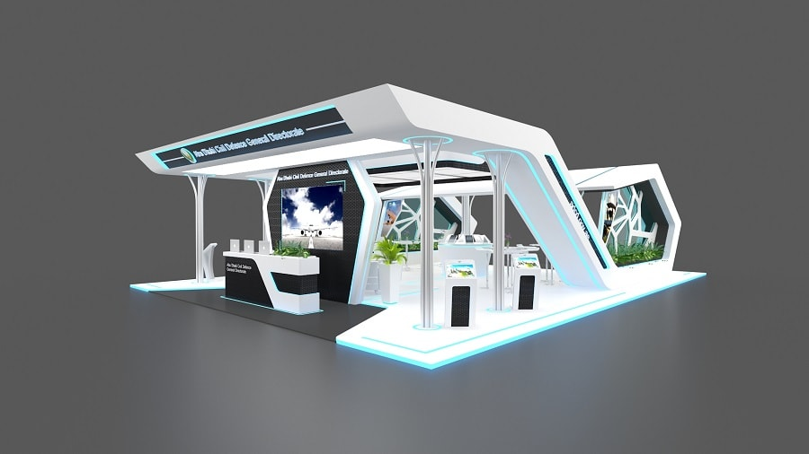 Exhibition Booth Abu Dhabi : Exhibition stand design in dubai tip top advertising