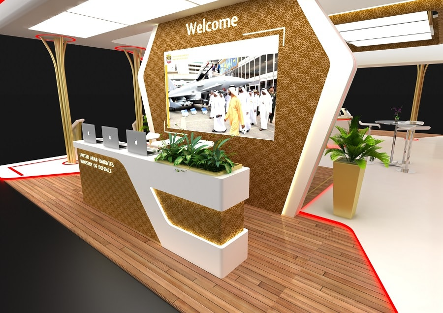 Simple Exhibition Stand Builders : Exhibition stand design in dubai tip top advertising