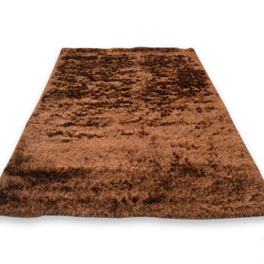 Dark Brown Rectangular Carpet