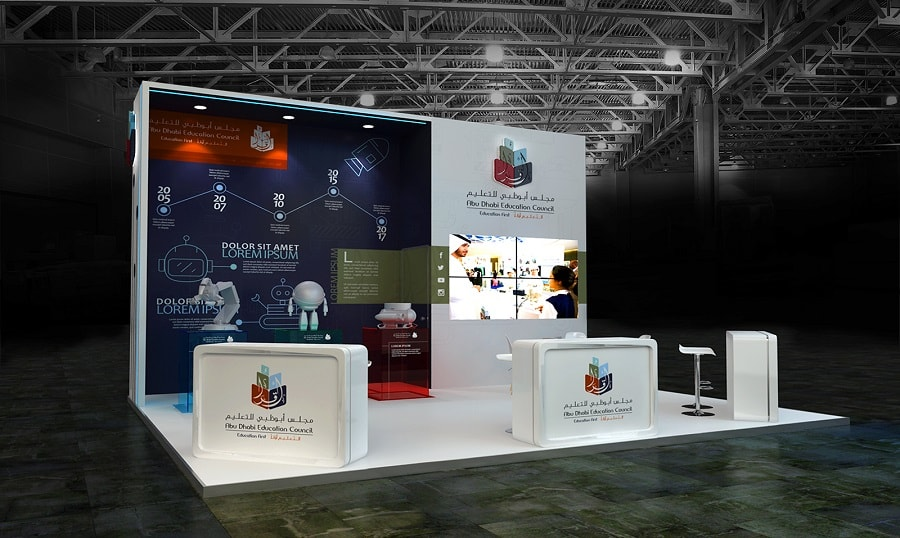 Exhibition Stand Design And Build : Exhibition stand design in dubai tip top advertising events