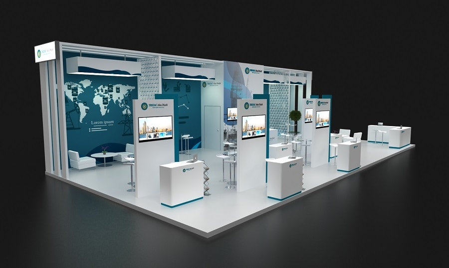 Exhibition Stand Builders Abu Dhabi : Exhibition stand design in dubai tip top advertising