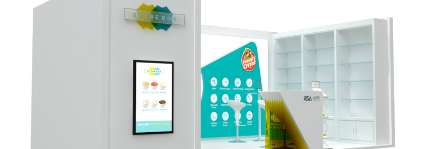 Exhibition Stand Advertising : By the box u exhibition stand design u tip top advertising events