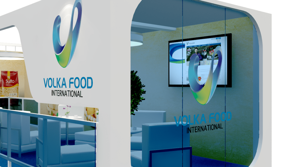 Exhibition Stand Themes : Volka food u2013 exhibition stand design u2013 tip top advertising & events