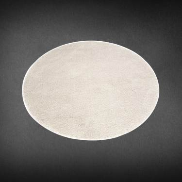Beige Round Carpet